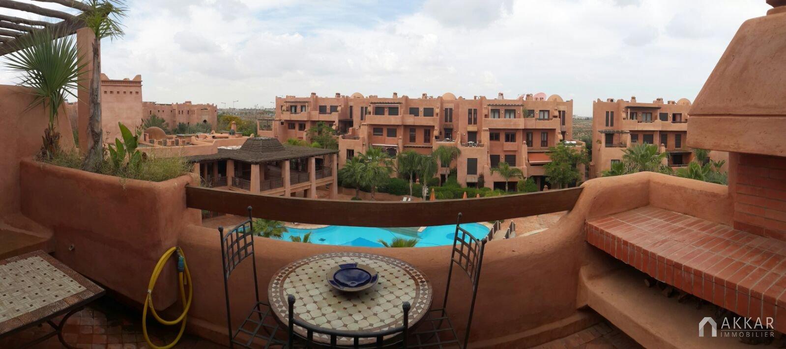 Vente appartement marrakech appartement moderne avec for Vente appartement avec terrasse