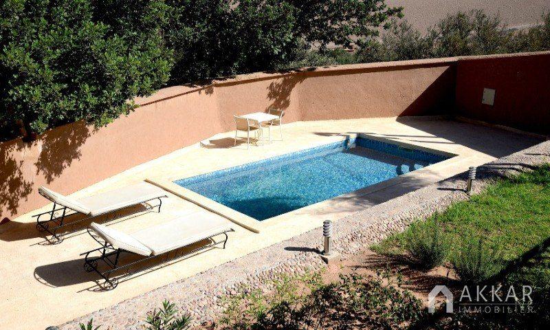 Vente villa marrakech villa avec piscine vendre route for Villa a marrakech avec piscine