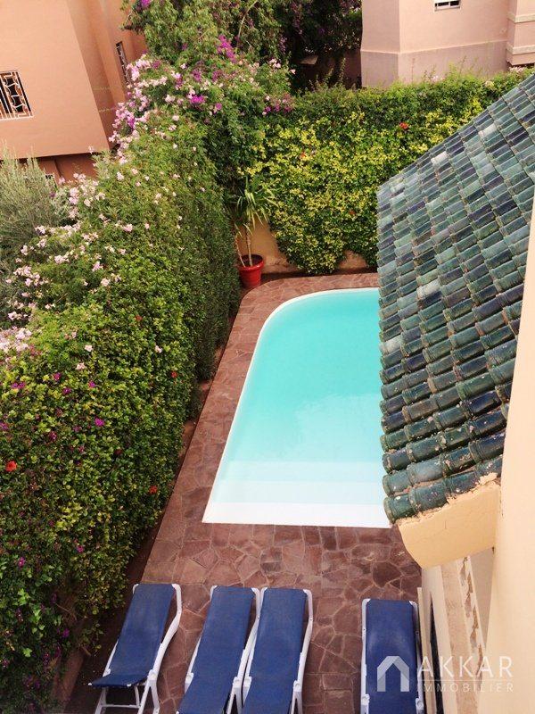 Vente villa marrakech vente villa targa marrakech for Construction piscine marrakech