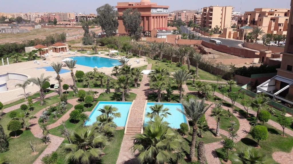 Location appartement marrakech appartement moderne for Appartement piscine marrakech