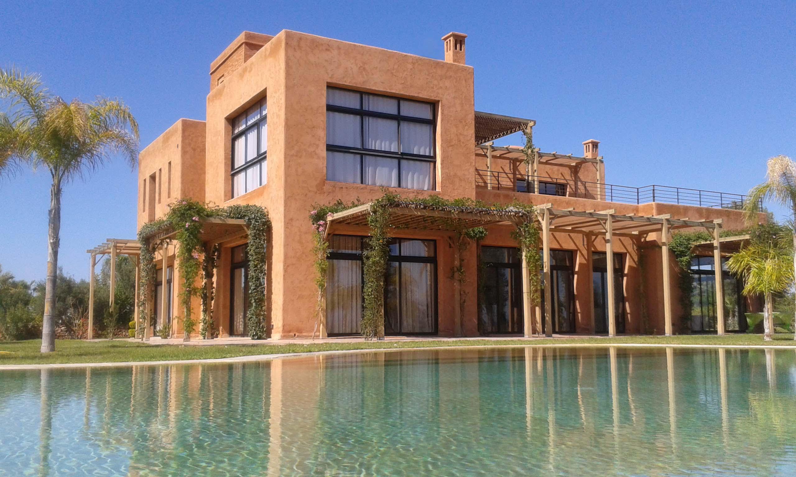 Vente villa marrakech villa de luxe vendre route d for A vendre villa de luxe