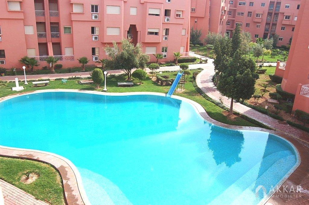 Location maison avec piscine marrakech segu maison for Appartement a louer a barcelone avec piscine