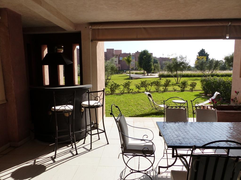 Vente appartement marrakech splendide appartement for Location appartement jardin