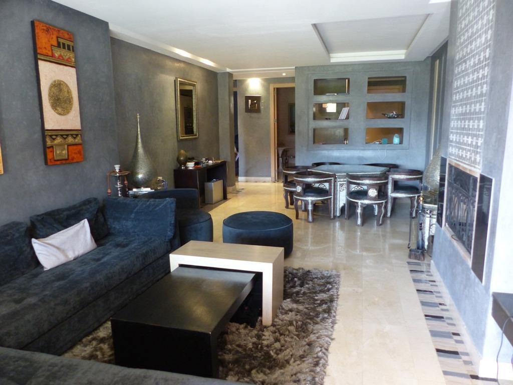 Vente appartement marrakech splendide appartement for Appartement location jardin