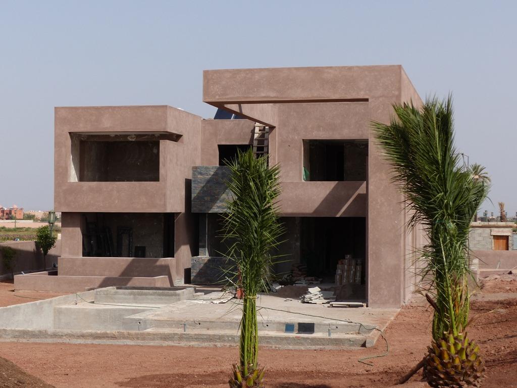 Vente villa marrakech villa d architecte vue golf for Villa d architecte moderne