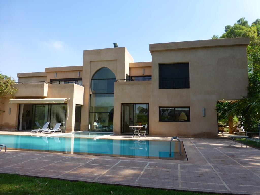 vente villa marrakech villa moderne avec piscine