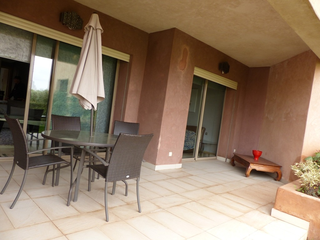 location appartement marrakech appartement avec jardin louer prestigia marrakech akkar. Black Bedroom Furniture Sets. Home Design Ideas