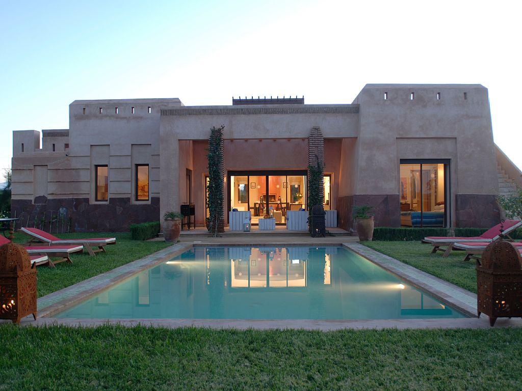 Belle Villa Avec Piscine à Louer Route De Fez Marrakech
