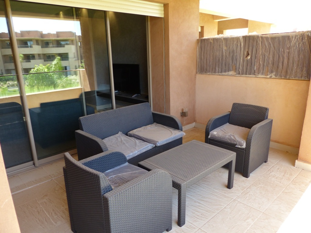 Location appartement marrakech appartement meubl avec for Location appartement avec terrasse 92
