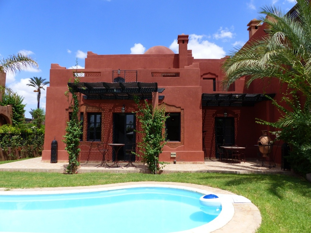 Maison a louer marrakech ventana blog - Location maison avec piscine marrakech ...