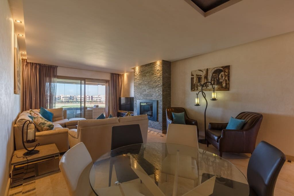 Appartement moderne avec vue golf à vendre à Prestigia Marrakech