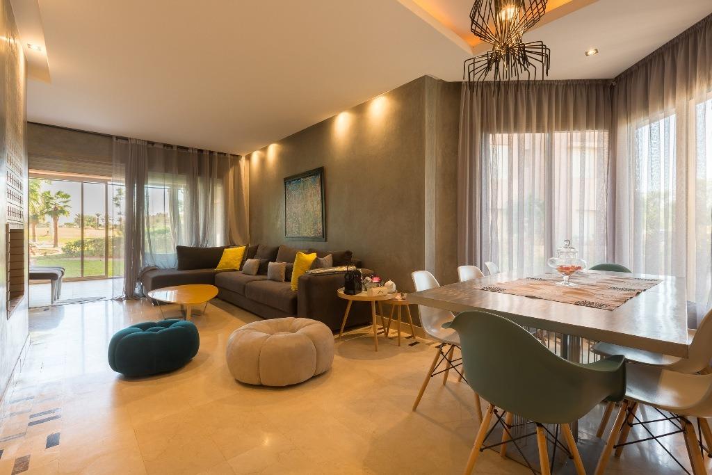 location appartement marrakech appartement moderne avec jardin louer prestigia marrakech. Black Bedroom Furniture Sets. Home Design Ideas
