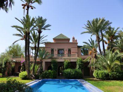Location villa palmeraie 6 villas louer dans la for Piscine privee marrakech