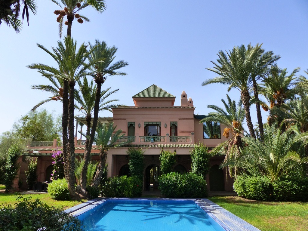 Location maison marrakech palmeraie ventana blog - Location maison avec piscine marrakech ...