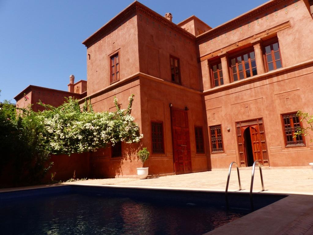 Vente villa marrakech villa avec piscine priv e vendre for Villa a marrakech avec piscine