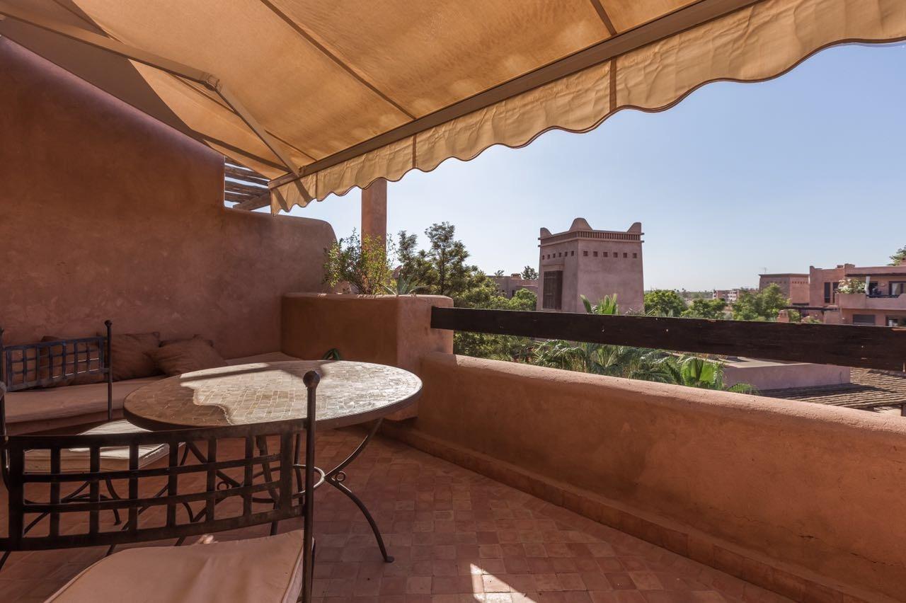 Vente appartement marrakech appartement al qantara avec for Appartement avec piscine marrakech