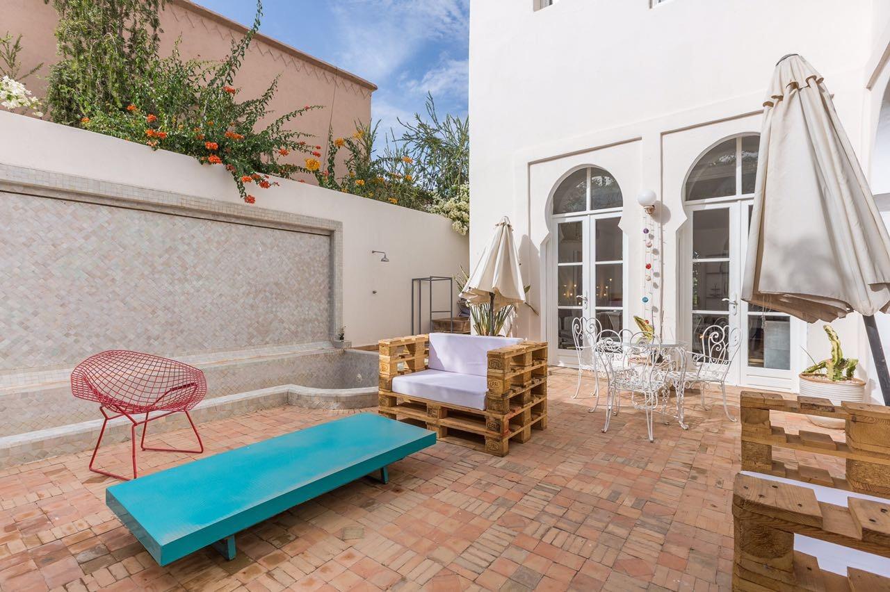 Appartement a louer a marrakech avec piscine location for Canape trossingen