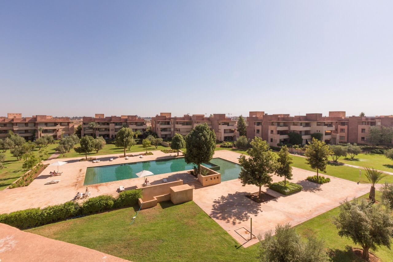 Location appartement marrakech magnifique appartement for Appartement piscine marrakech