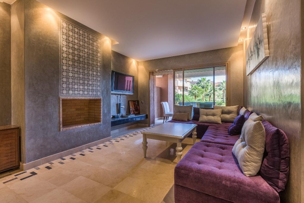 Location appartement marrakech appartement avec jardin for Appartement avec piscine marrakech