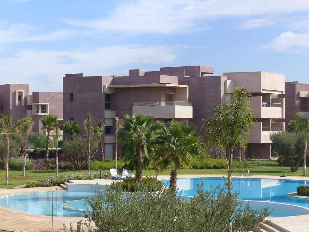 Location appartement marrakech appartement avec vue for Location appartement avec piscine