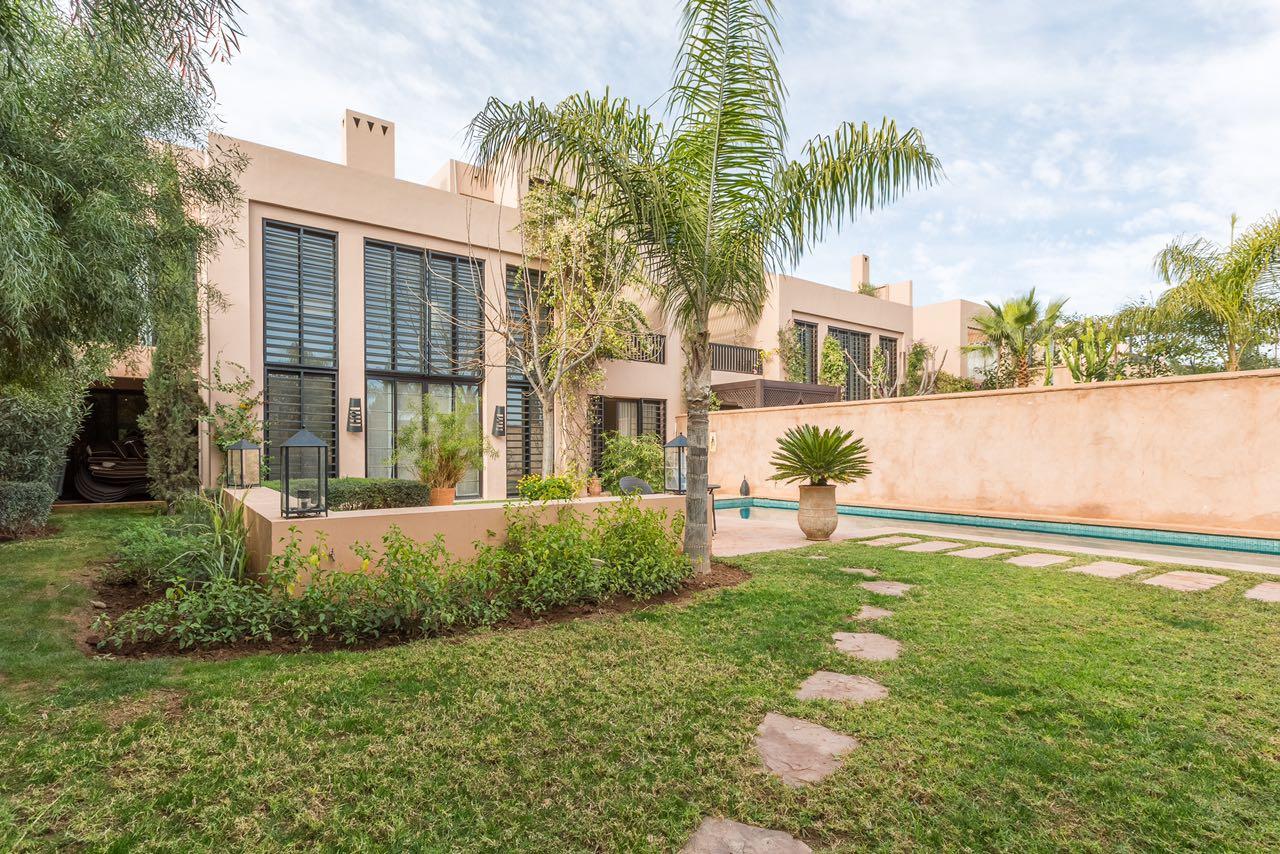 Location Villa Marrakech Villa Avec Piscine Chauff E
