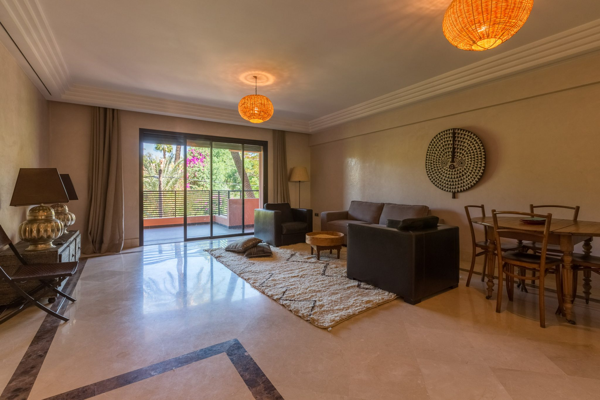 Location appartement marrakech joli appartement meubl for Appartement a louer meuble