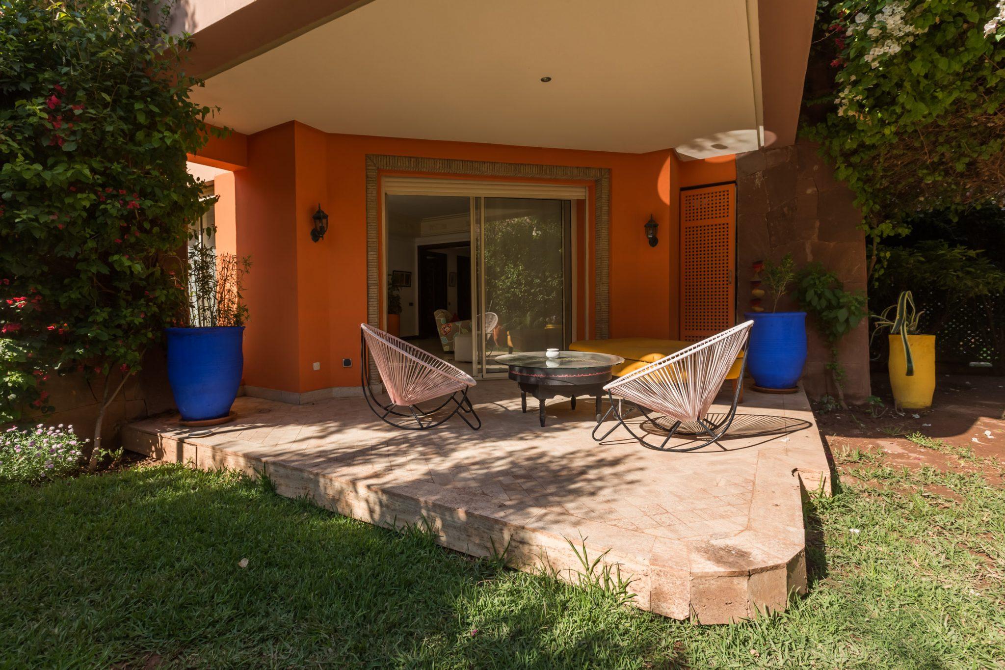 Location appartement marrakech splendide appartement avec jardin louer dans l 39 hivernage - Appartement a louer avec jardin ...