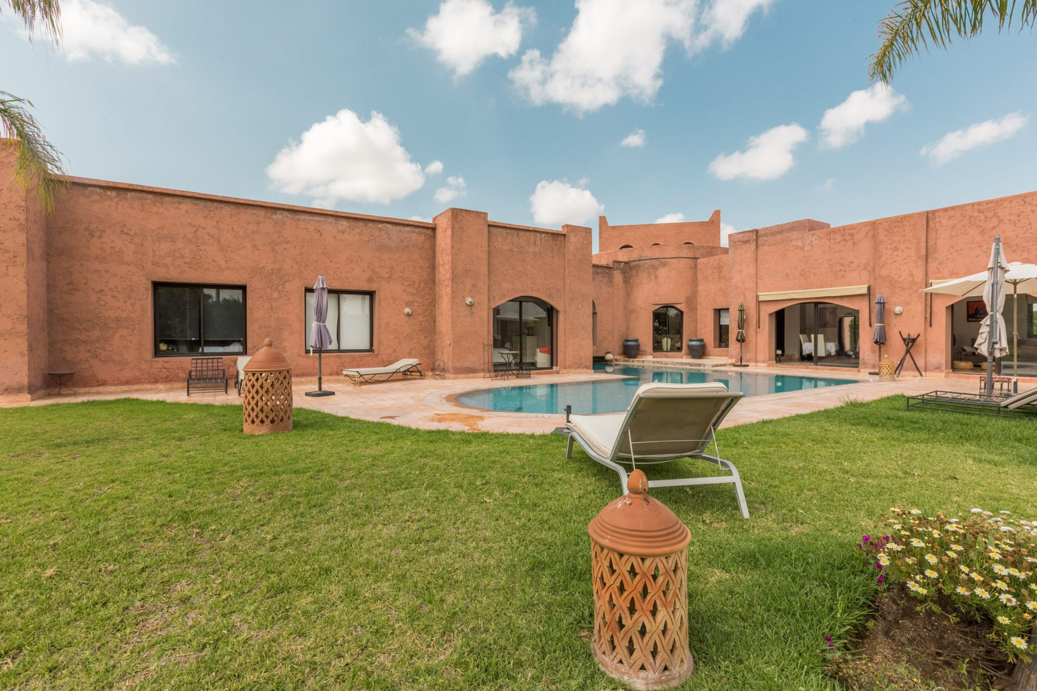 Location villa marrakech belle villa avec piscine priv e for Piscine privee marrakech