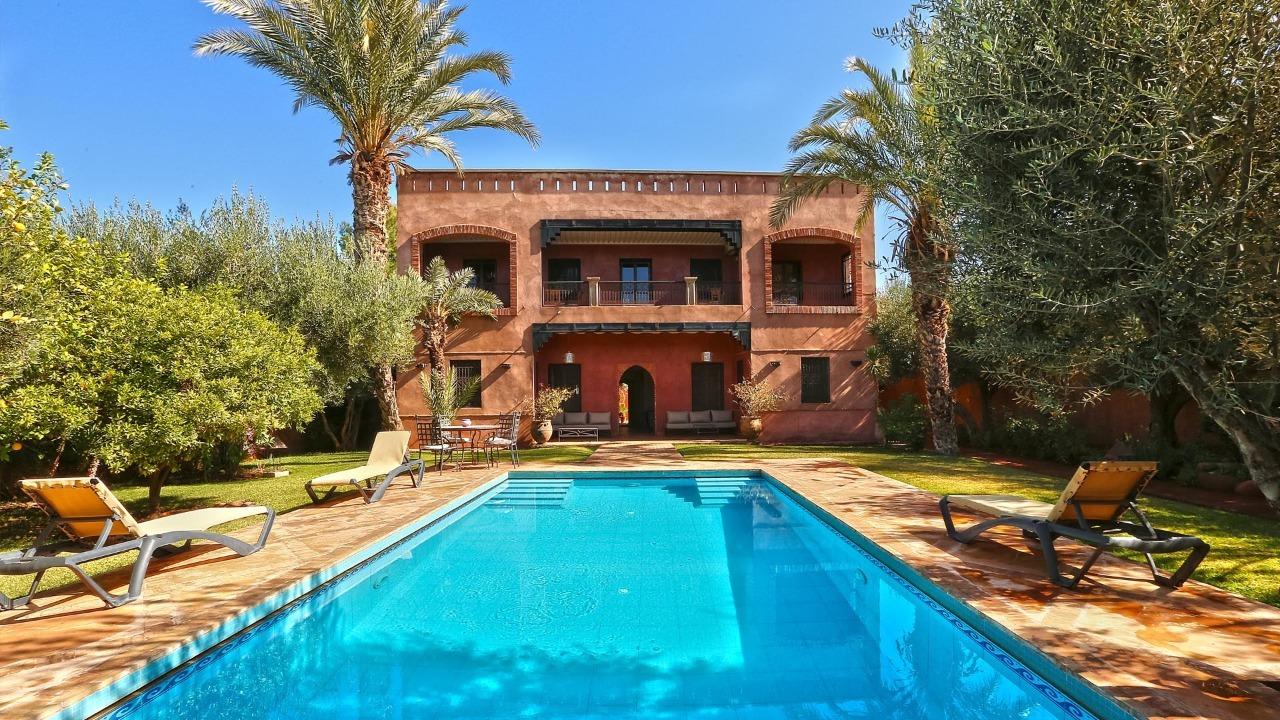 Location villa marrakech bel maison de campagne louer - Location maison avec piscine marrakech ...