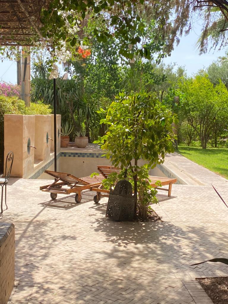 Location villa marrakech petite maison avec piscine - Location maison avec piscine marrakech ...